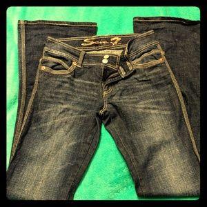 Seven7 Jeans- Flare Leg